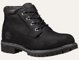 TIMBERLAND 32085 MEN'S BLACK NUBUCK LEATHER WATERPROOF CHUKKA BOOTS sz 10 - $1.832,01 MXN
