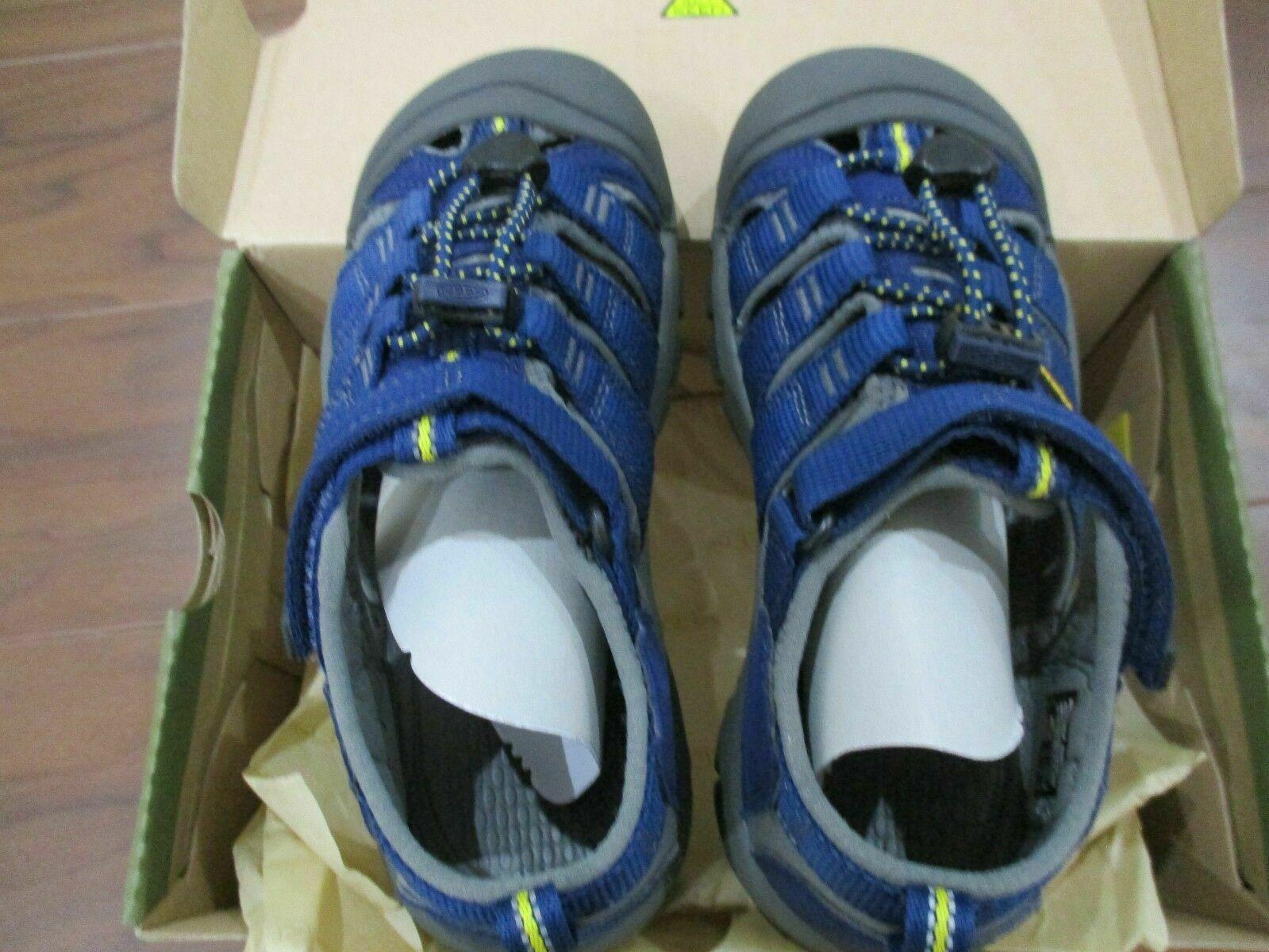 BNIB Keen Newport H2 Youth Boys sandals, pick size, Blue, ships w/o box