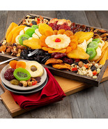 Dried Fruit & Nut Platter: Gourmet Gift Tray * - $72.99