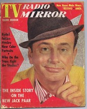 ORIGINAL Vintage July 1960 TV Radio Mirror Magazine Jack Paar - $18.51