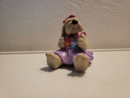 1985 Pound Puppies Figurine - Tutu, Hound, Puppy, Tonka, Hong Kong - $12.99