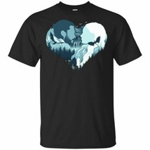 Winterfell Heart T-Shirt GOT Game Of Thrones 2019 Tee Shirt Short Sleeve S-5XL - $16.78+