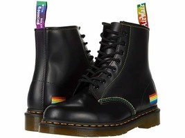 NIB*Womens*Dr. Martens Pride *1460 8 Eye Boot**5-11*Black*Doc Martens - £176.64 GBP