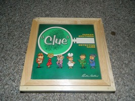 Clue Board Game in Wood Container-Complete - $20.00