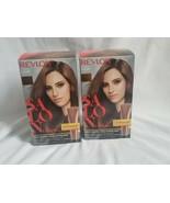 Revlon Salon Color 6RB Light Reddish Brown haircolor lot x 2 - $47.52