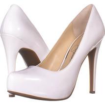 Jessica Simspon Parisah Hidden Platform Heels, White 905, White, 5.5 US - $31.67