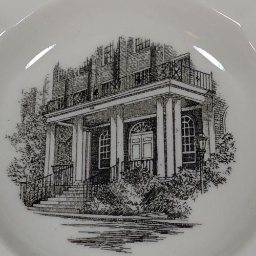 Wedgwood Ethel Walker School Ashtray Change Dish Beaver Brook Dormitory Simsbury image 2