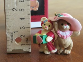 "1996 Hallmark ""Sister to Sister"" Keepsake Christmas Ornament Teddy Bear ... - $3.99"
