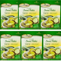 Mrs. Wages 1.94 Oz. Sweet Pickle Refrigerator Pickle Mix 6 Packs - $18.00