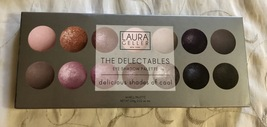 Laura Geller The Delectables Baked Eye Shadow Palette Delicious Shades Of Cool - $39.95