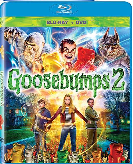 Goosebumps 2 [Blu-ray + DVD]