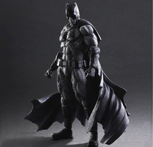 Batman v Superman: Dawn of Justice Play Arts Kai Batman (Black & White Version)  - $124.88
