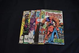 Fantastic Four Comic Lot 5 Books 249 254 255 256 258 FN VF Dr. Doom - $9.14