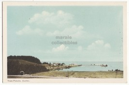 TROIS PISTOLES Quebec QC,  General View, Quai - vintage Canada postcard - $3.85