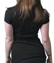 Famous Stars & Straps Mujer Júnior Londres Punk Cuello Redondo Camiseta Negra image 2