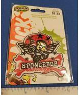Spongebob Squarepants Craft Notion Nickelodeon Biker Iron On Offray Nick... - $2.84