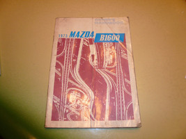 1973 Mazda B1600 Owner's Handbook - Glove Box - $8.79