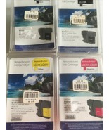 lot 4 remanufactured brother ink LC61BK LC61Y LC61M LC65Y LC65M - $20.72
