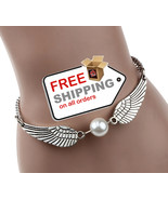 Angel Wings Imitation Pearl for Women Lady Beauty Perfect Gift - $13.00