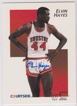 Elvin Hayes Signed Autographes 1991 Courtside Basketball Card - $14.99