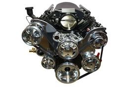 CHEVY GM LS LS1 LS2 LS6 FRONT DRIVE SERPENTINE PULLEY KIT GM CHEVROLET 5.7L 6.0L