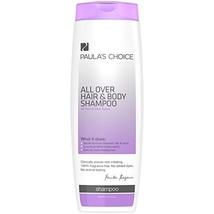 Paula's Choice All Over Hair & Body Shampoo, 14.5 Ounce Bottle, Fragrance Free S