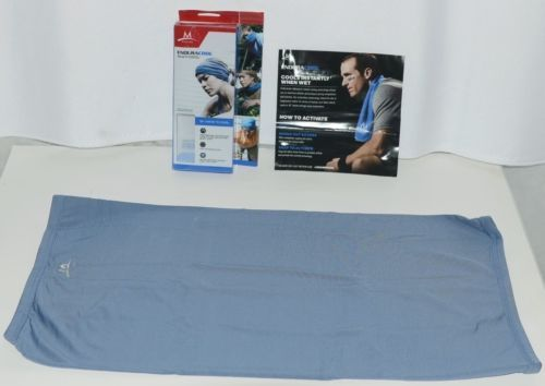 Mission 108067 Midnight Blue Enduracool Multicool Polyester Spandex