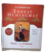 Death in the Afternoon by Ernest Hemingway Unabridged Audio CD Audiobook... - $29.99