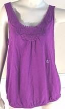 Lane Bryant Shirt Size 14 Cool Casual Cotton Slub Sleeveless Shirt Top Women - $8.61