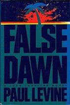 False Dawn Levine, Paul image 1