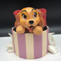 LADY AND THE TRAMP FIGURINE WDCC walt disney perfectly beautiful little ... - $43.56