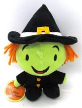 Hallmark Little Rasghoul Green Witch Small Plush 2001 with tags - $18.99