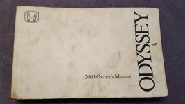 2003 Honda Odyssey Owner's Owner Manual ONLY No Case or Supplemental Documents - $11.64