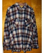 Mountain Camper Rugged Wear Flannel Shirt Plaid... - $17.97