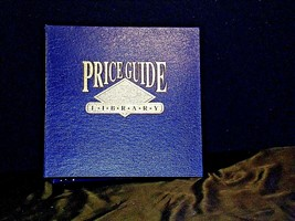 Blue PriceGuide Library Trading Card 3 Ring  Album AA19-1446 Vintage image 1
