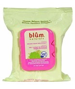 NEW Blum Naturals Facial Cleansing Cloth Daily Cleansing and Makeup Remover - $28.49