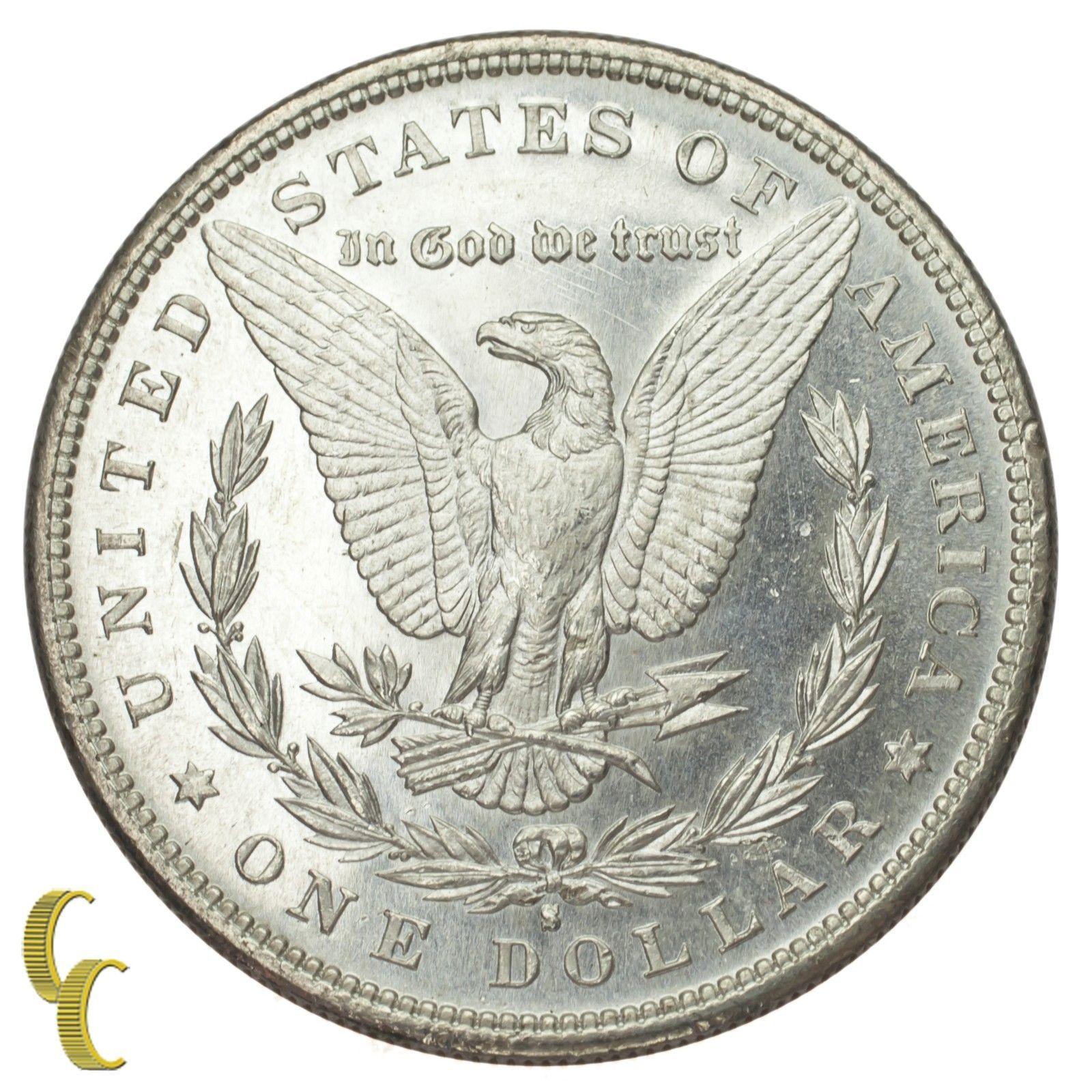1881-S Silver Morgan Dollar $1 (Gem BU Condition) Terrific Eye Appeal!