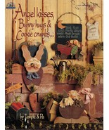 Tole Decorative Painting Angel Kisses Bunny Hugs Cookie Crumbs Temple & ... - $13.99