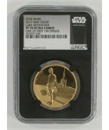 Star Wars Luke Skywalker 1 Oz. Oro e Argento Set NGC PF70 Ultra Cammeo W/ Coast - $4,528.21