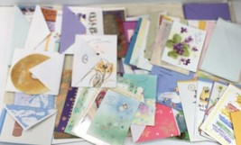 LOT Of 48 Hallmark Cards Mixed: Warm Wishes, Shoestring, Expressions, Mahogany. - $39.55