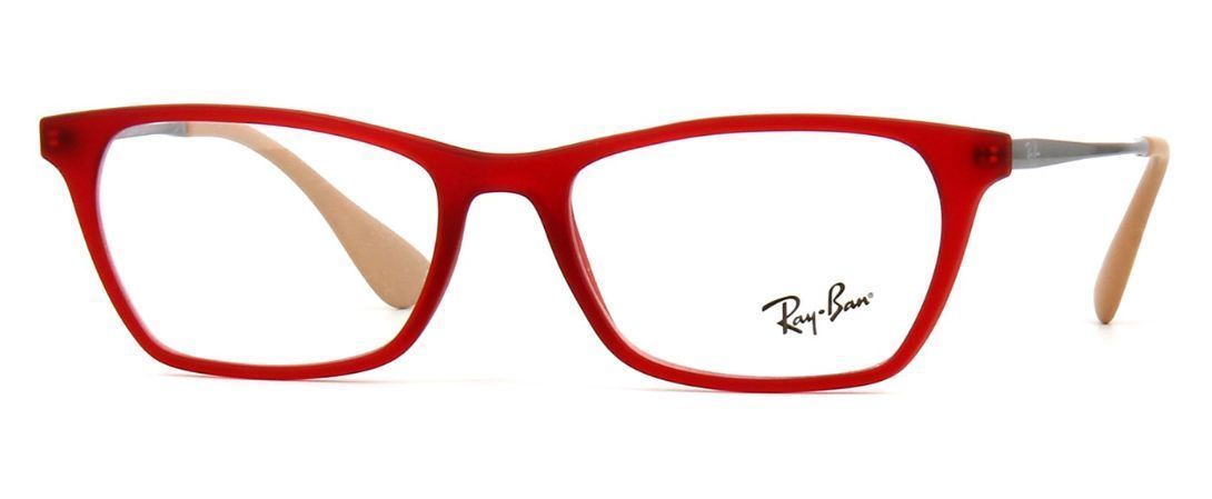 f8b2c0b3d14 Ray Ban Rb 7053 5525 Red Eyeglasses 52mm - and 50 similar items