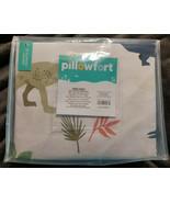 Pillowfort Dinosaur Duvet Cover Set TWIN 100% Cotton Kids Bedroom Beddin... - $24.70