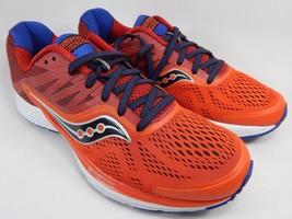 Saucony Ride 10 Men's Running Shoes Size US 9 M (D) EU 42.5 Orange Red S20373-2