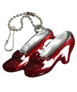 Wizard Of Oz #120 RUBY SLIPPERS 75th Anniversary Clip On Pewter Ornament... - €11,86 EUR
