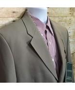 NWT Ralph Lauren for Macy's Beige Total Comfort Men's 42L Wool Blend Sui... - $31.42