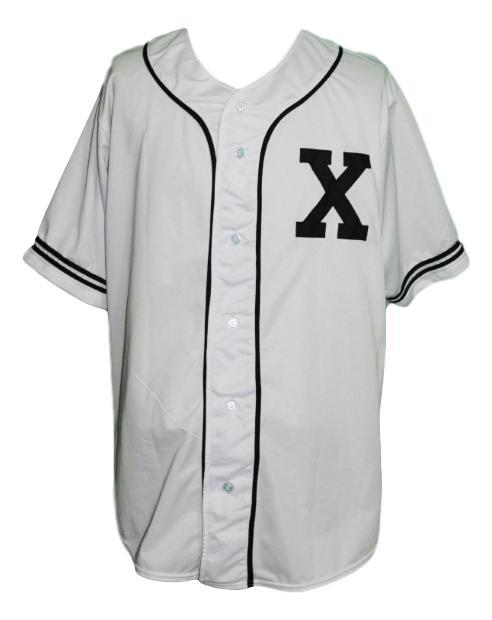 Malcolm X Baseball Jersey Button Down White Any Size