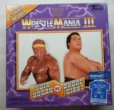 Funko WWE Wrestlemania III T-Shirt XL Hulk Hogan & Andre the Giant Displ... - £14.16 GBP