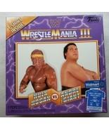 Funko WWE Wrestlemania III T-Shirt XL Hulk Hogan & Andre the Giant Displ... - £14.26 GBP