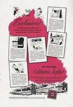 Vista Dome California Zephyr Train Western Pacific 1952 Features Ad - $9.99