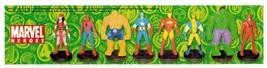 Marvel Heroes - Incomplete Set 6 3D Figurines Hulk - $8.00